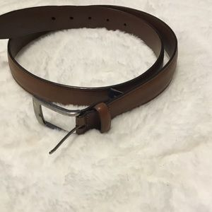 Roundtree & Yorke Brown Leather Belt 34/85